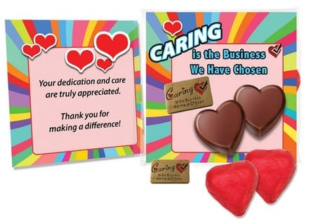 Caring Is The Business We Have Chosen Appreciation Gift