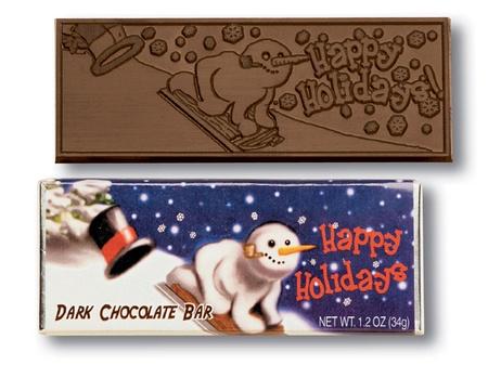 Happy Holidays Chocolate Bar