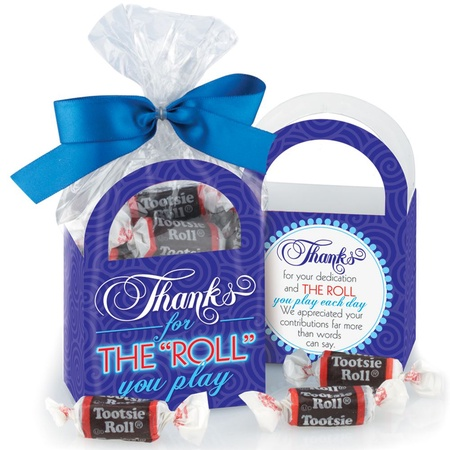 """Thanks For The """"Roll"""" You Play Tootsie Roll® Tote"""