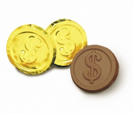 $ Chocolate Gold Coins