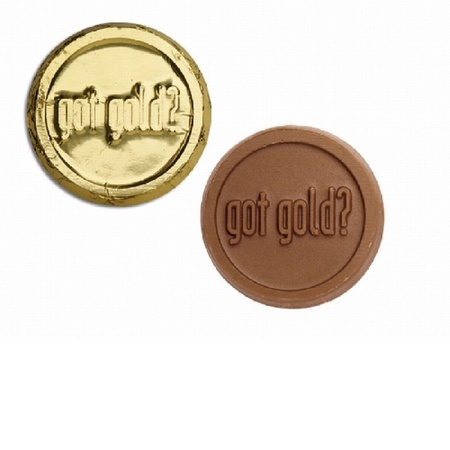Custom Foiled Chocolate Coins
