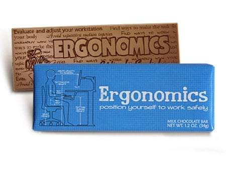 Ergonomic Safety Chocolate Bar