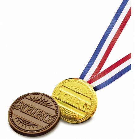 Excellence Chocolate Award Medallion