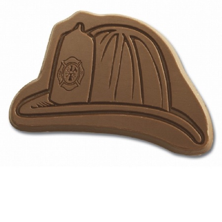 Fire Safety Chocolate Helmet