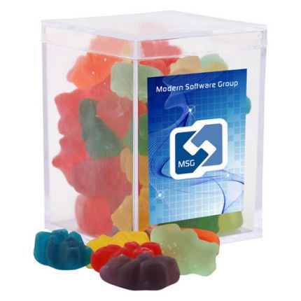 Gummy Bears in Acrylic Box