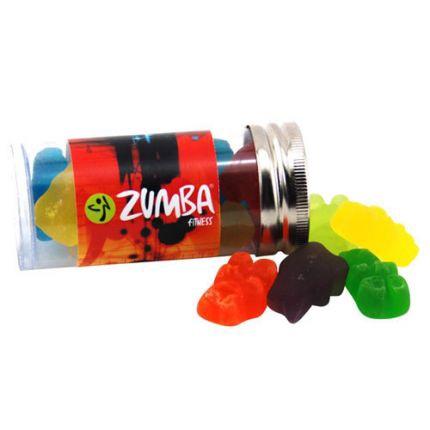 Gummy Bears in Plastic Tube
