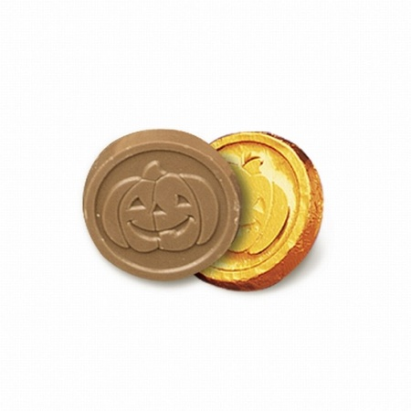 Halloween Chocolate Coins