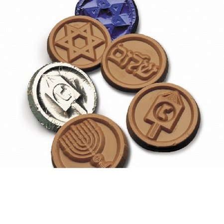Hanukkah Chocolate Gelt Coins