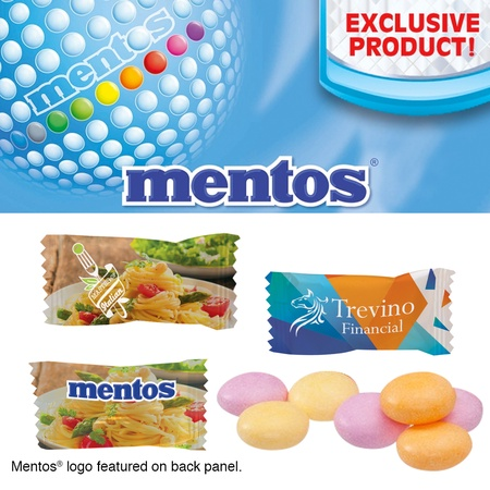 Individually Wrapped Assorted Mentos Fruit