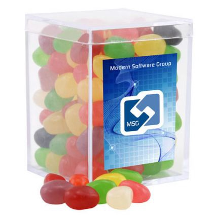 Jelly Beans in Acrylic Box