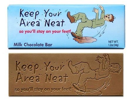 Keep Your Area Neat Chocolate Bar