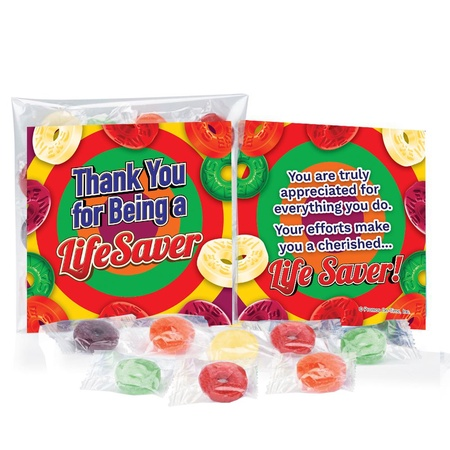 Thank You for Being A Lifesaver Staff Treat Packs