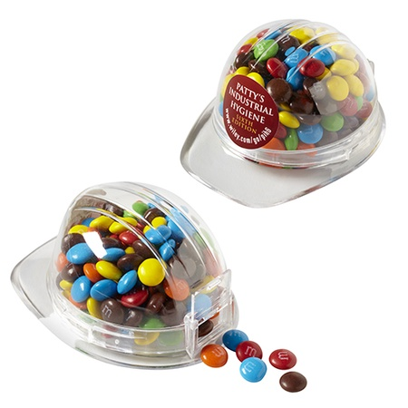 Mini M&M's® in Hard Hat Container