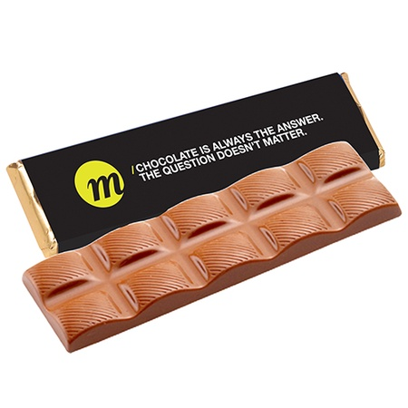 Premium Chocolate Bars in Custom Wrappers