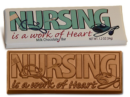 Nurse Appreciation Chocolate Bar