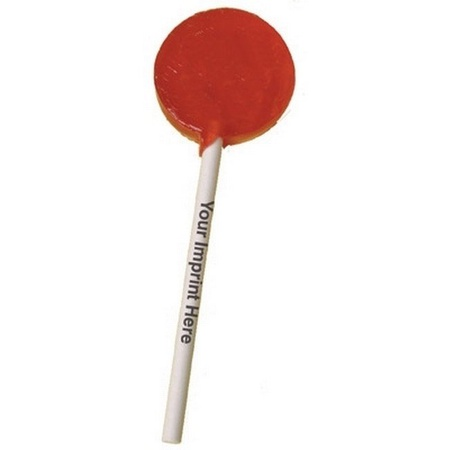 Lollipops with Imprinted Sticks