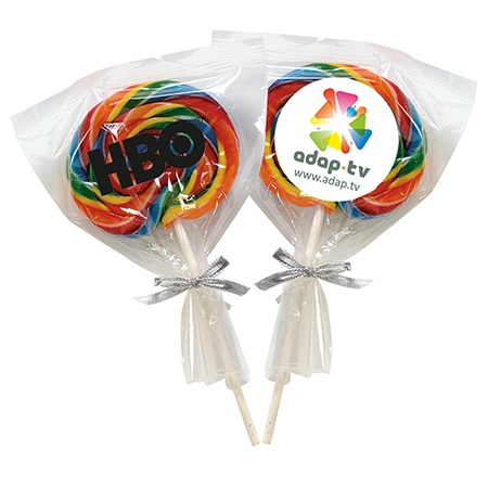 Large Swirl Lollipop