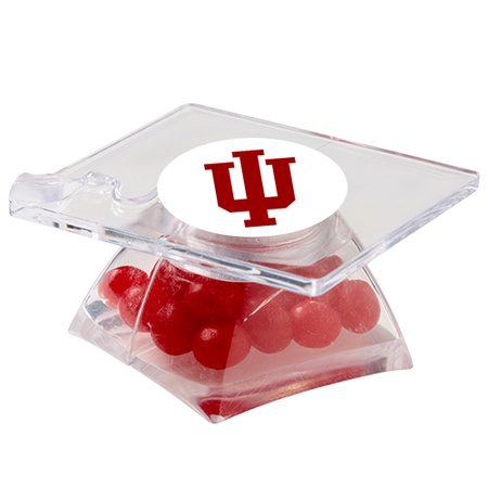 Red Hots® in Graduation Cap Container