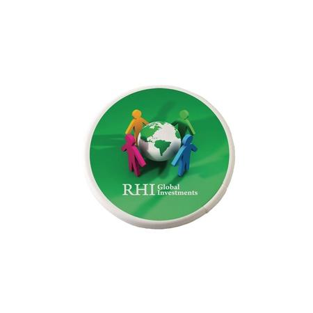 Round Mint Card