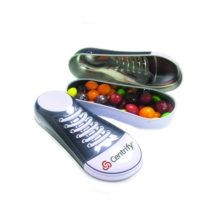 Sneaker Tin of Skittles