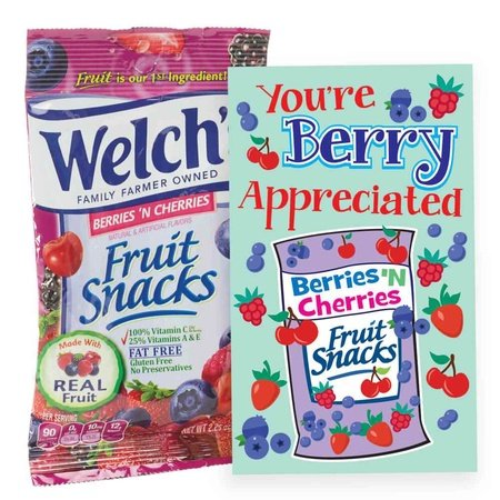 You're Berry Appreciated Treat Packs