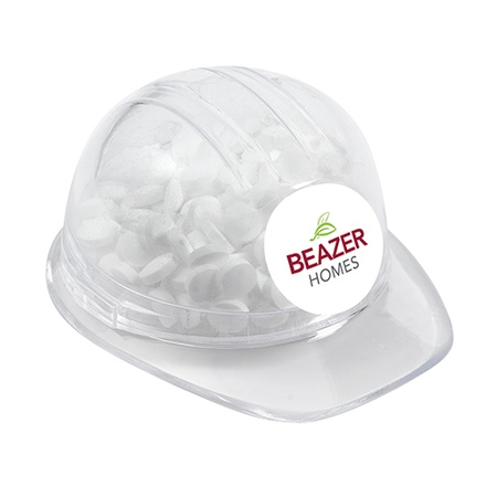 Sugar Free Peppermints in Hard Hat Container