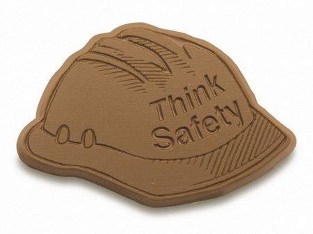 Think Safety Chocolate Hard Hat