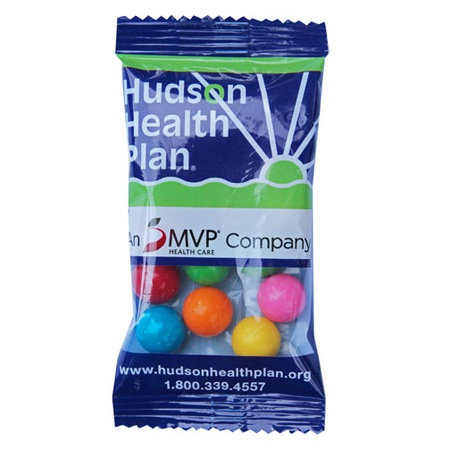 Treat Pack Bags with Gumballs