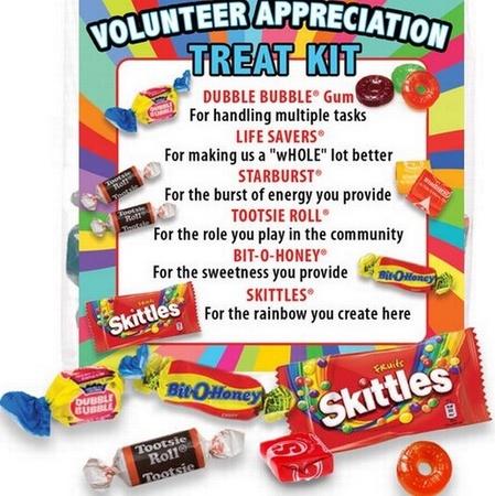 Volunteer Appreciation Treat Kits