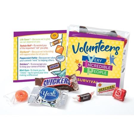 Volunteers VIP Survival Treat Kits