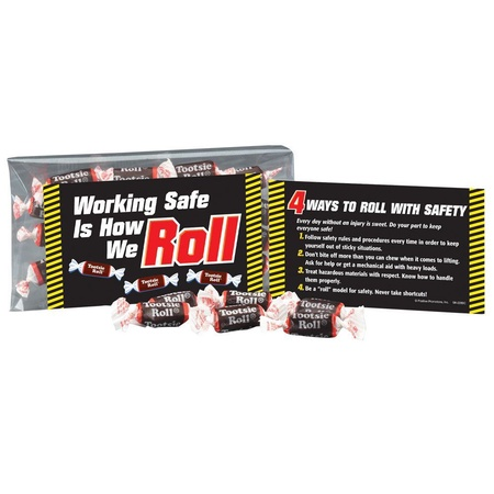 Working Safe Is How We Roll Tootsie Roll® Treat Kit
