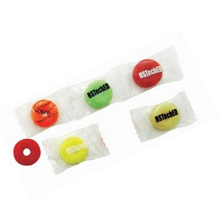Wrapped Lifesavers Fruit Candies