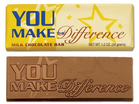 You Make A Difference Chocolate Bar