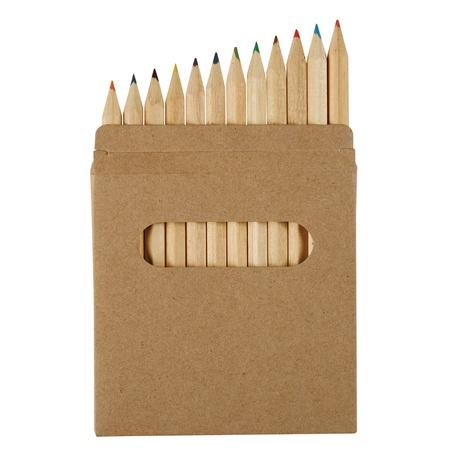 Custom Printed 12-Piece Colored Pencil Set