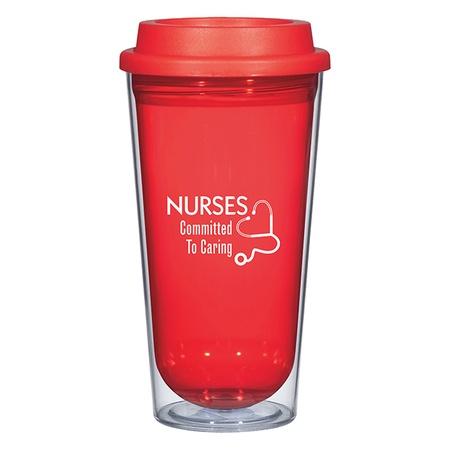 16 oz. Tumbler Gift for Nurses Appreciation