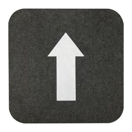 """17"""" x 17"""" Directional Floor Mats"""