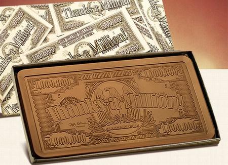 2 lb. Thanks A Million Chocolate Bar