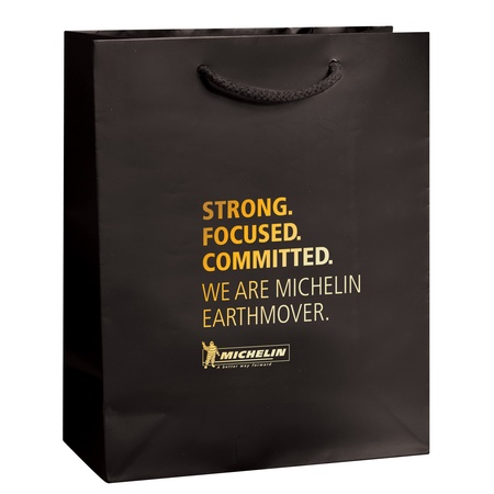 """Gloss 8"""" x 4"""" x 10"""" Promotional Shopping Bags"""