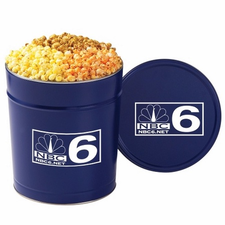 3-1/2 Gallon 3 Way Popcorn Tin
