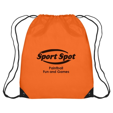 Large Custom Drawstring Sports Backpack
