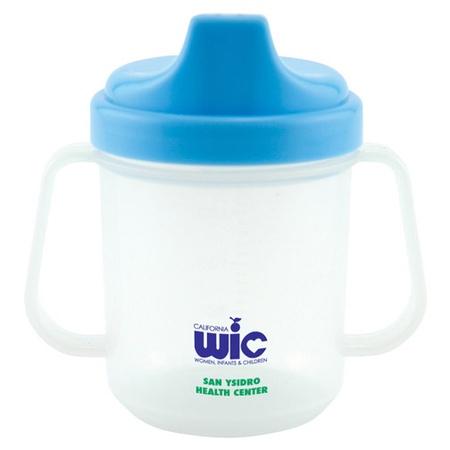 Custom 7 oz. Non Spill Baby Cups