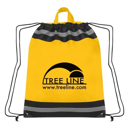 Large Non-Woven Designer Drawstring Backpacks with Logo