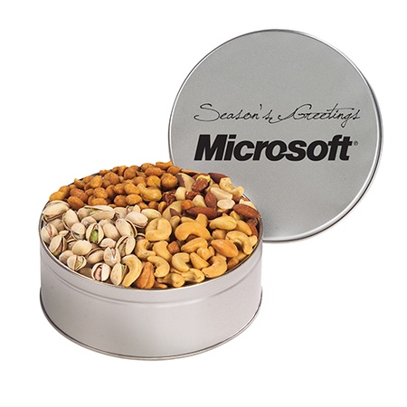 Personalized 4-Way Nut Tins