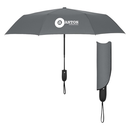 "42"" Arc Auto Open & Close Folding Umbrella"