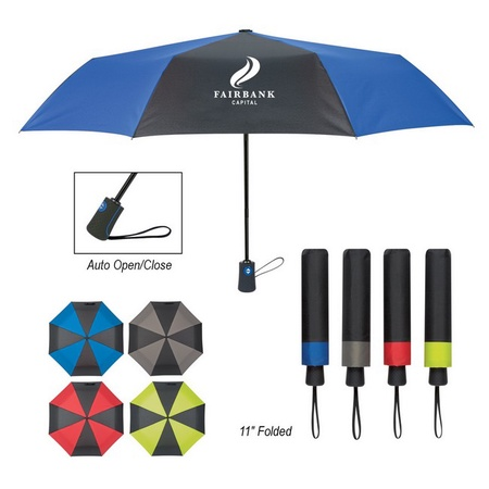 "43"" Duet Colors Telescopic Umbrella"