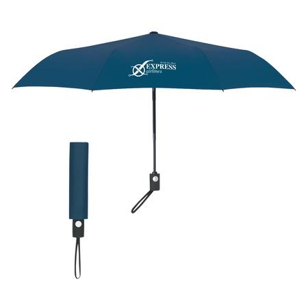 "43"" Telescoping Folding Auto Umbrella"