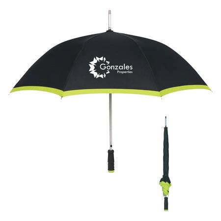 "46"" Arc Edge Two-Tone Umbrella"