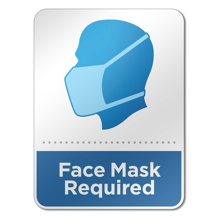 "6"" x 8"" Face Mask Reminder Signs"