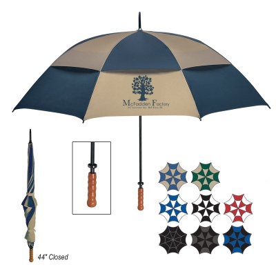 "68"" Arc Vented Windproof Umbrella"