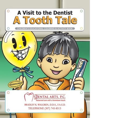 A Visit to the Dentist Coloring & Activity Book
